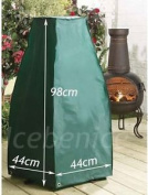 Garden Chiminea Cover Weather Protection Heavy Duty, Small 98cm High X 44cm Sq