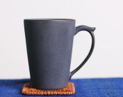 YNBS Handmade ceramic mugs Kung Fu Tea-Cup scoop of coffee cup with lid water glasses in the Office manual,1