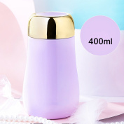 YIHANG @ Stainless Steel Vacuum Insulation Cup Female Student Creative Fashion Large Capacity Portable Cup,Purple