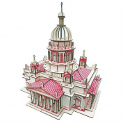 Issa Kiev's Cathedral 238 piece Assembly 3D Puzzle Building