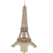 3D Puzzle Building Eiffel Tower