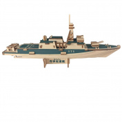 3D Puzzle Missile Destroyer Warship New School term Gift Birthday New Year Christmas toy Gift