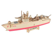 3D Puzzle Destroyer Warship Birthday Christmas New Year Gift