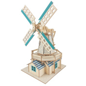 Dutch Windmills 77 piece 3D Puzzle Set