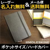 Leak; the skin MOLESKINE pocket series