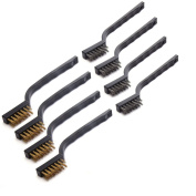 Umsole Brass And Stainless Steel Wire Brush Set For Cleaning Welding Slag...