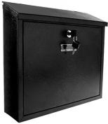 Savisto Slim-line Wall Mounted Lockable Waterproof Mailbox