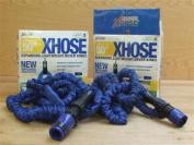 2x Xhose Expanding Lightweight Garden Water Hose Pipe 15 Metres 50ft