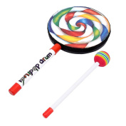 Boutique1583 New Lollipop Shape Music Drum Musical Instruments Learning Toy