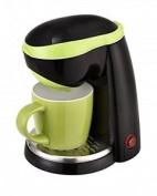 Tkg One Cup Coffee Maker With 250 Ml Ceramic Mug, 400 W, 0.25 Litre, Green/black