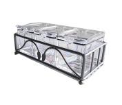 Tenta Kitchen Airtight Gourmet Acrylic Seasoning Box - Premium Quality Pure Art