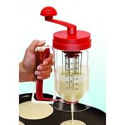 Silicone Bakeware Manual Pancake Mix Machine With Measuring Batter/dispens