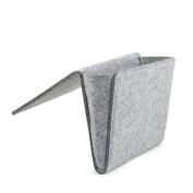 Kikkerland Bedside Pocket Felt Grey