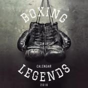 Boxing Legends 2018 Calendar