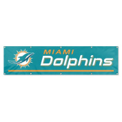 Party Animal Miami Dolphins Giant 2.4m Team Banner