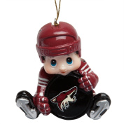 SC Sports Phoenix Coyotes Lil Player Ornament 3-Pack