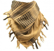 Outdoor Tactical Camouflage Scarf Arab Shemagh tan