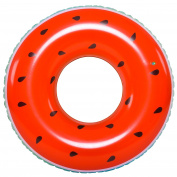 120cm Jumbo Inflatable Watermelon Lounger Swimming Pool Float Ring