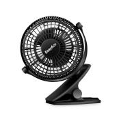 Easyacc 720 Rotation Clip Desk Fan Mini Usb Personal Cooling Fan Portable Tab...