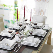 Malacasa Series Flora Ceramic Dinner Set Porcelain Home Kitchen Dinnerware Plate