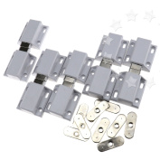10pcs Magnetic Pressure Touch Release Catches Cabinet Doors Push To Open Latches