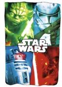Kids Euroswan - Star Wars. Sw14053. Fleece Blanket