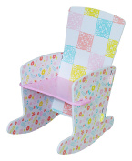 Kidsaw Country Cottage Rocking Chair, 45 X 40 X 60 Cm, Multi-colour