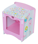 Kidsaw Country Cottage Bedside Cabinet, 29 X 36 X 37 Cm, Multi-colour