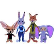 Disney Zootropolis 20cm Soft Plush Collectible Character Toys