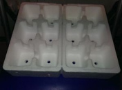 Polystyrene Plant Trays With 12 Cells X 4. Great For Growing On Plugs.