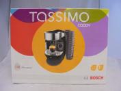 Bosch Tas7002gb Caddy Hot Drinks Machine Black & Chrome 1.2 Litres 40+