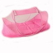 CHRISLZ Summer Mosquito Net for Children ,Portable Folding Baby Travel Bed Crib Baby Cots Newborn Foldable Crib