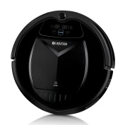 Eventer Vacuum Cleaning Robot with Auto Charging and Scheduling For Pet Fur /Black