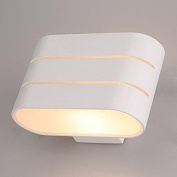 Night Led Wall Lamp Up Down Sconce Warm White Lights Living Room Bedroom Hallway