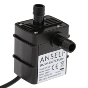 Anself Ultra-quiet Mini Dc12v 9w Micro Brushless Water Oil Pump Waterproof Lift