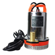 Bacoeng Dc 24v Farm & Ranch Solar Powered Submersible Water Well Pump 9.1m Lift