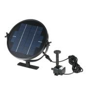 Anself Submersible Brushless Solar Panel Solar Powered Fountain Water Pump Kit