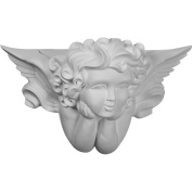 Ekena Millwork SCO23X14X09AN 60cm W x 36cm H x 24cm P Angel Wall Sconce