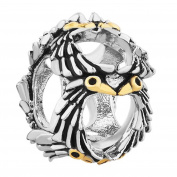 Uniqueen Jewellery Owl Wisdom Charm Beads fit Charms Bracelet