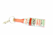 Ketchup bottle food Charm Zipper Pull pendant for Bracelet, wristlet Miniblings sauce fastbood