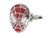 Spiderman Cufflinks Marvel Super Human Spider man novelty gift hero cufflinks - gift box included