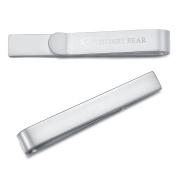 Honey Bear Mens / Boys Skinny Tie clip Bar for Narrow Tie - Stainless Steel for Business Wedding Gift ,4cm