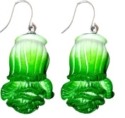 Cabbage Bok Choy Charm Dangle Drop Earrings by Pashal …