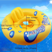 Asdomo Baby Infant Swimming Ring Deluxe Baby Float Inflatable Seat Swimming Ring Float Beach Toys