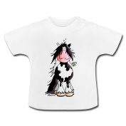 Gypsy Cob Horse Baby T-Shirt by Spreadshirt®