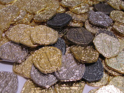 200 Pirate Coins - Gold and Silver Doubloon Replicas