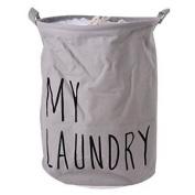 Hoomall Folding Large Round Laundry Hamper Toy Storage Basket Bag Cylindric