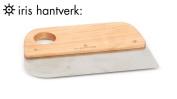 Iris Hantverk Beech Wood & Stainles Steel Dough Bread Baking Scraper