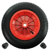 First4spares 36cm 3.50 - 8 Complete Wheelbarrow Wheel, Inner Tube, Tyre & 1.3cm /