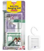 Zero In Moth Killer Hanging Unit Effective Protection, Tackles Clothing Moths, 6